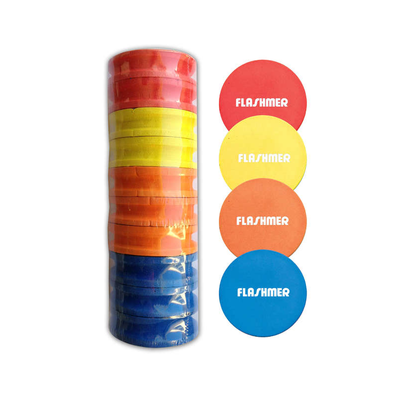 SALTWATER WINDERS - Foam winders round x10 FLASHMER