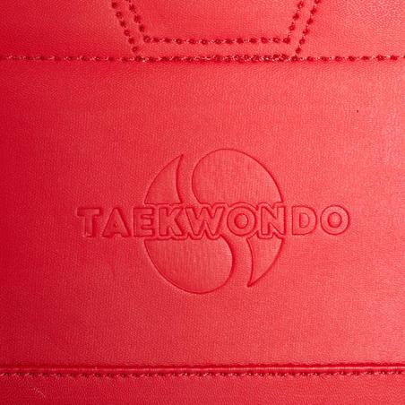 PLASTRON DE TAEKWONDO 500 REVERSIBLE ADULTE