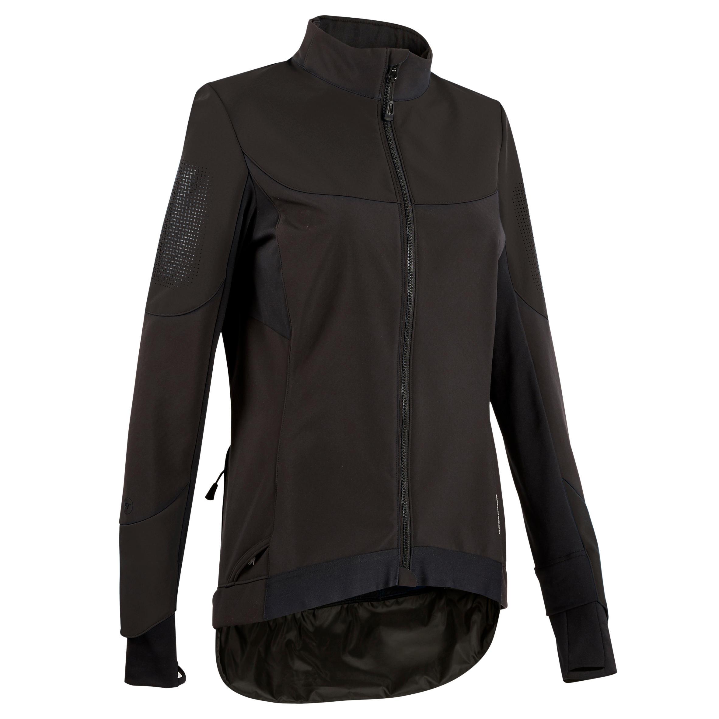 Jachetă MTB Negru Damă