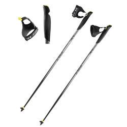 Nordic walking stokken NW P100 zwart / grijs