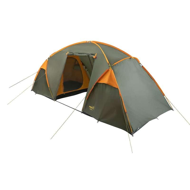 СЕМЕЙНЫЕ ПАЛАТКИ 4-8 ЧЕЛ. Походы, треккинг, кемпинг - RU BORA-6 HELIOS - Палатки