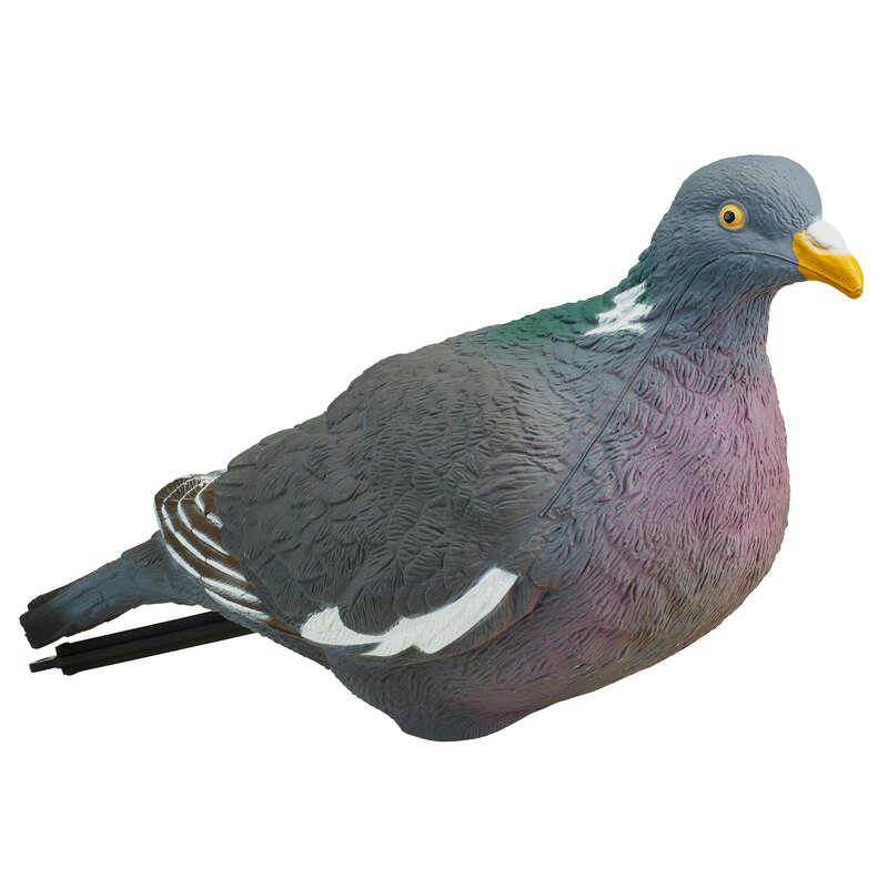 VABE IN PIŠČALI ZA GOLOBE Eko izdelki - 3D vaba v obliki goloba 500 SOLOGNAC - Eko izdelki