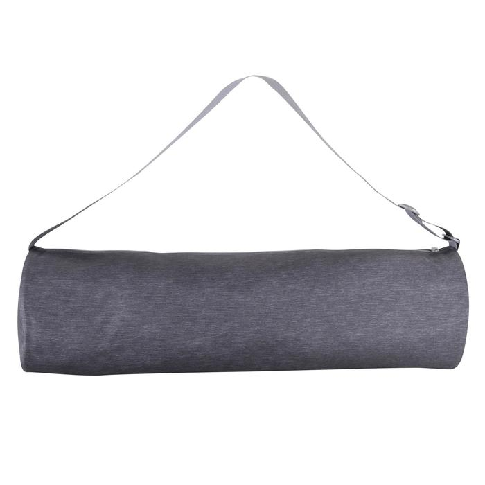 Bolsa esterilla de yoga gris