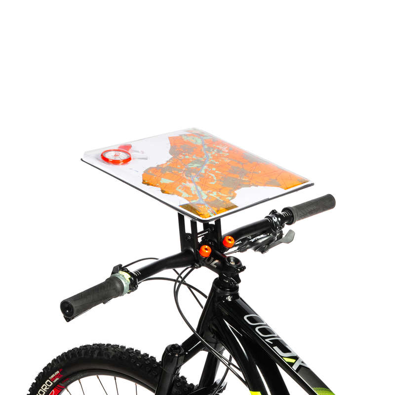 COMPASS AND ORIENTEERING EQUIPMENT Orienteering - CYCLING ROTATING MAP HOLDER GEONAUTE - Sports