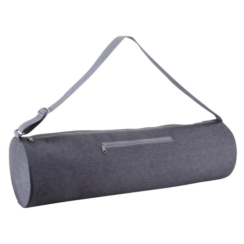 Borsa tappetino yoga grigio scuro melange 69cm