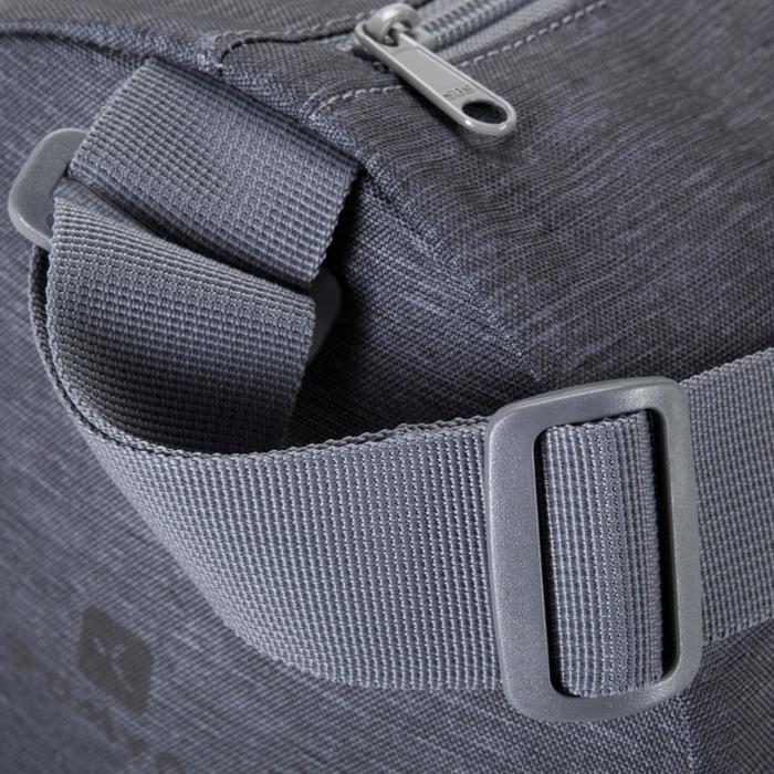Tas yogamat grijs