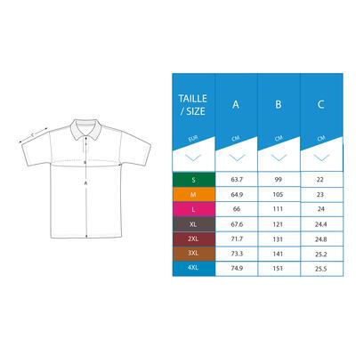 Men's Golf Short Sleeve Polo Shirt - Navy Blue