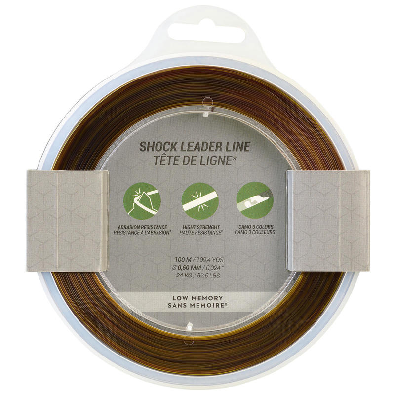 Shock Leader 60/100 100m Pêche de la carpe