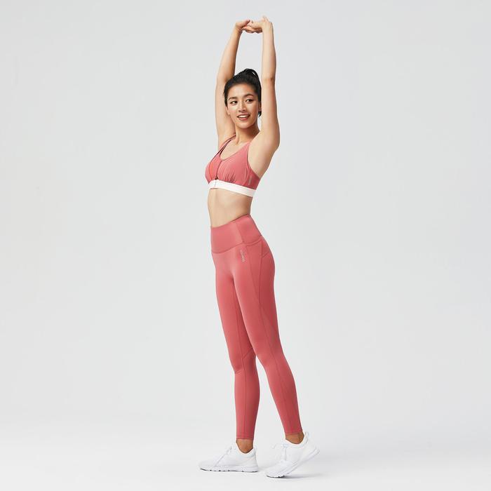 女款有氧健身訓練運動內衣920 - 粉色