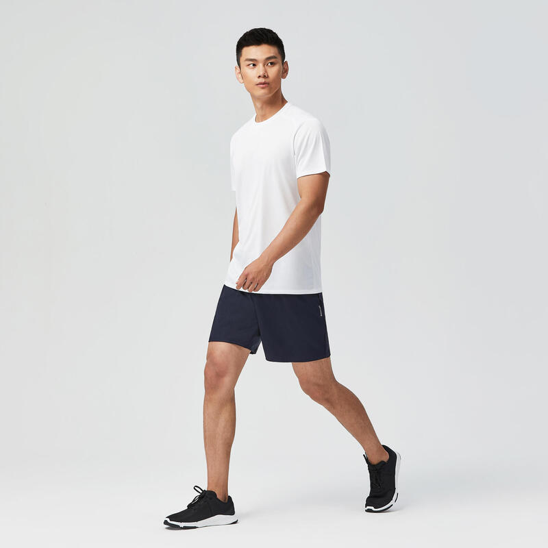 Fitness Cardio Training T-Shirt 100 - White