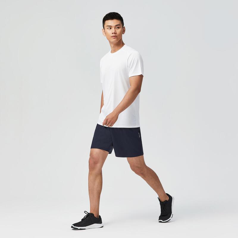 有氧健身訓練T恤FTS 100 - 白色