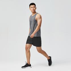 有氧健身訓練背心Top 100 - 灰色