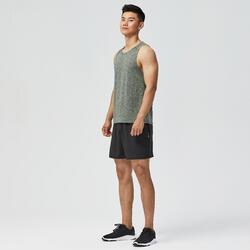 有氧健身訓練背心Top 100 - 卡其色