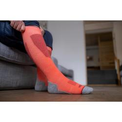 滑雪襪100 NEW - 珊瑚紅