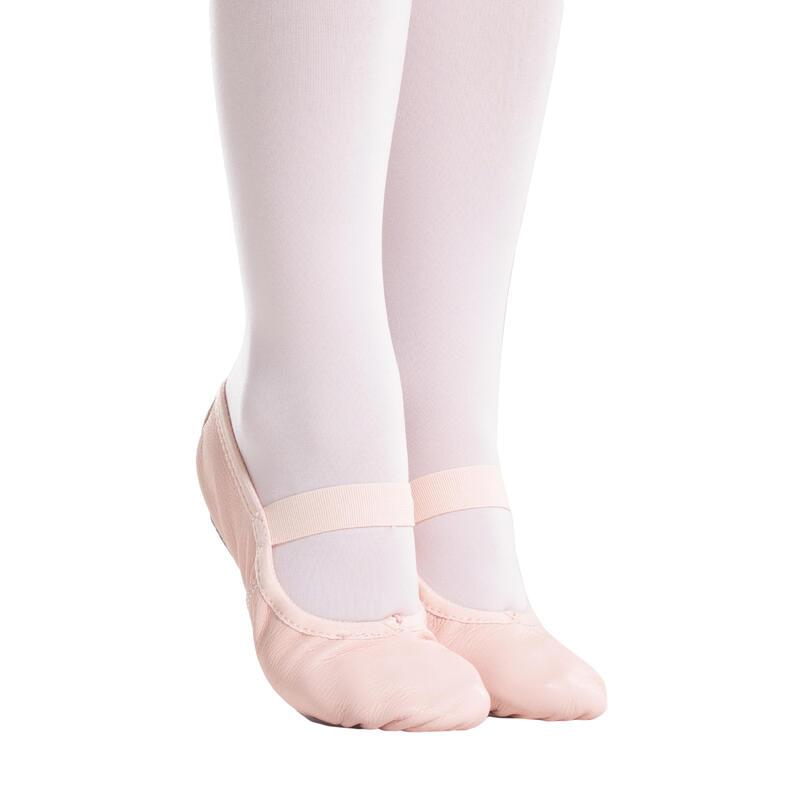 Zapatillas de Ballet Domyos Suela Entera Piel Rosa
