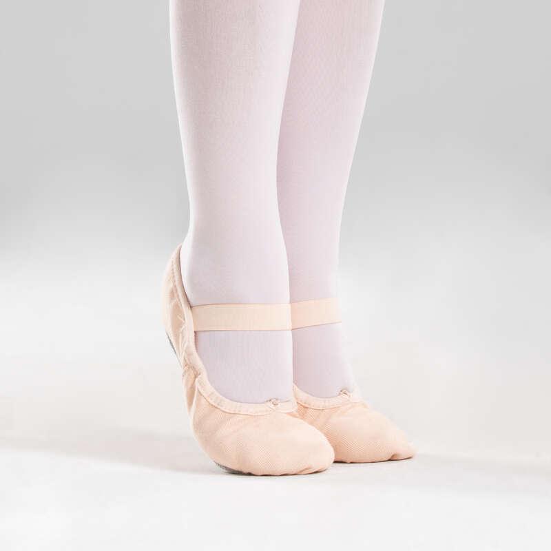 ОБУВЬ / БАЛЕТ Танцы - Полупуанты с цельной подошвой DOMYOS - Обувь