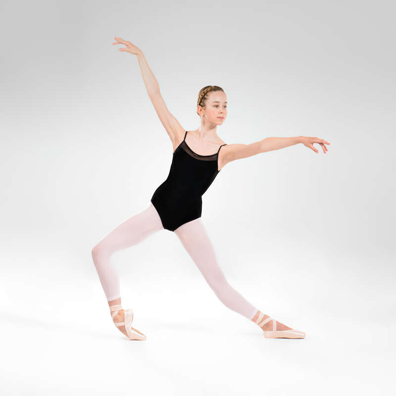 DRÄKTER, KLÄD. FÖR KLASSISK BALETT, JUNI Danser, Balett - Balettdräkt smala axelband  STAREVER - Danser, Balett