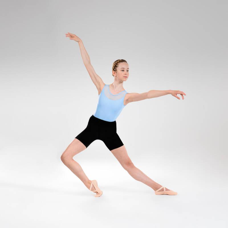 DÍVČÍ TRIKOTY, OBLEČENÍ NA BALET Balet - DÍVČÍ BALETNÍ TRIKOT DOMYOS - Baletní oblečení