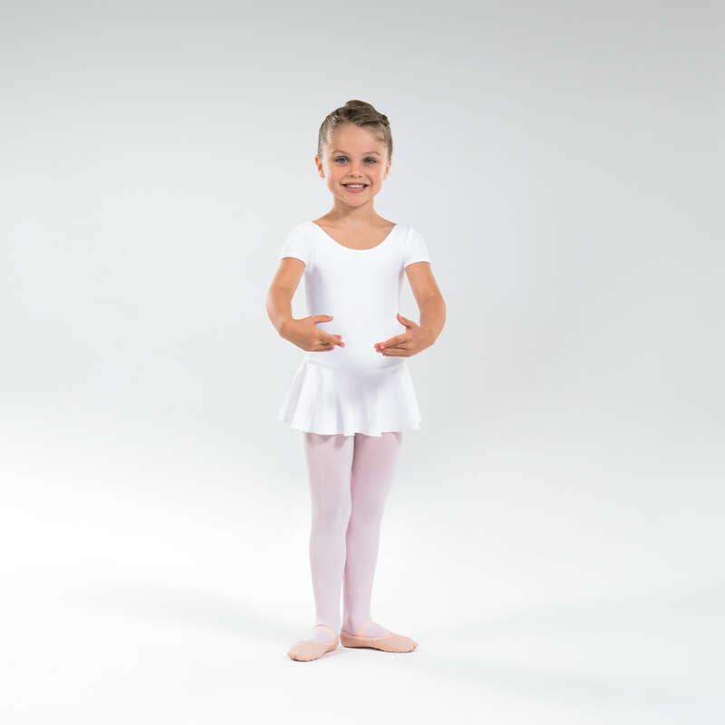 DRÄKTER, KLÄD. FÖR KLASSISK BALETT, JUNI Danser, Balett - Dansdräkt med isydd kjol JR STAREVER - Balett