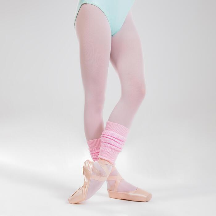 Guêtres de danse classique et moderne roses fille