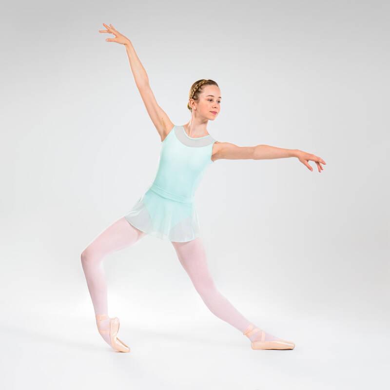 DÍVČÍ TRIKOTY, OBLEČENÍ NA BALET Balet - DÍVČÍ BALETNÍ DRES DOMYOS - Balet