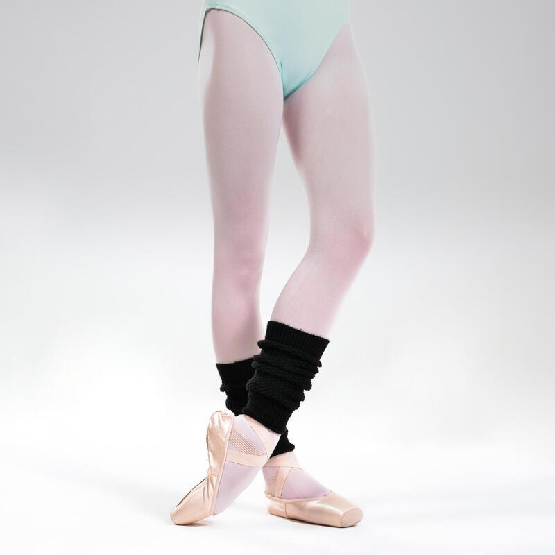 Perneiras de Dança Clássica e Moderna Menina Preto