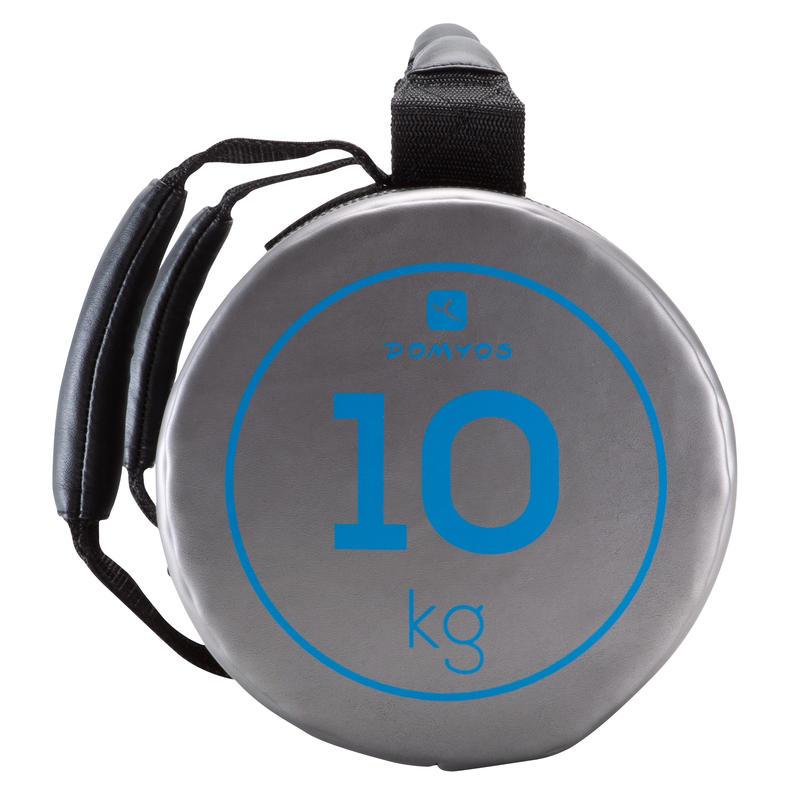 กระเป๋าถ่วงน้ำหนักสำหรับการออกกำลังกายแบบผสมผสาน 10 กก.