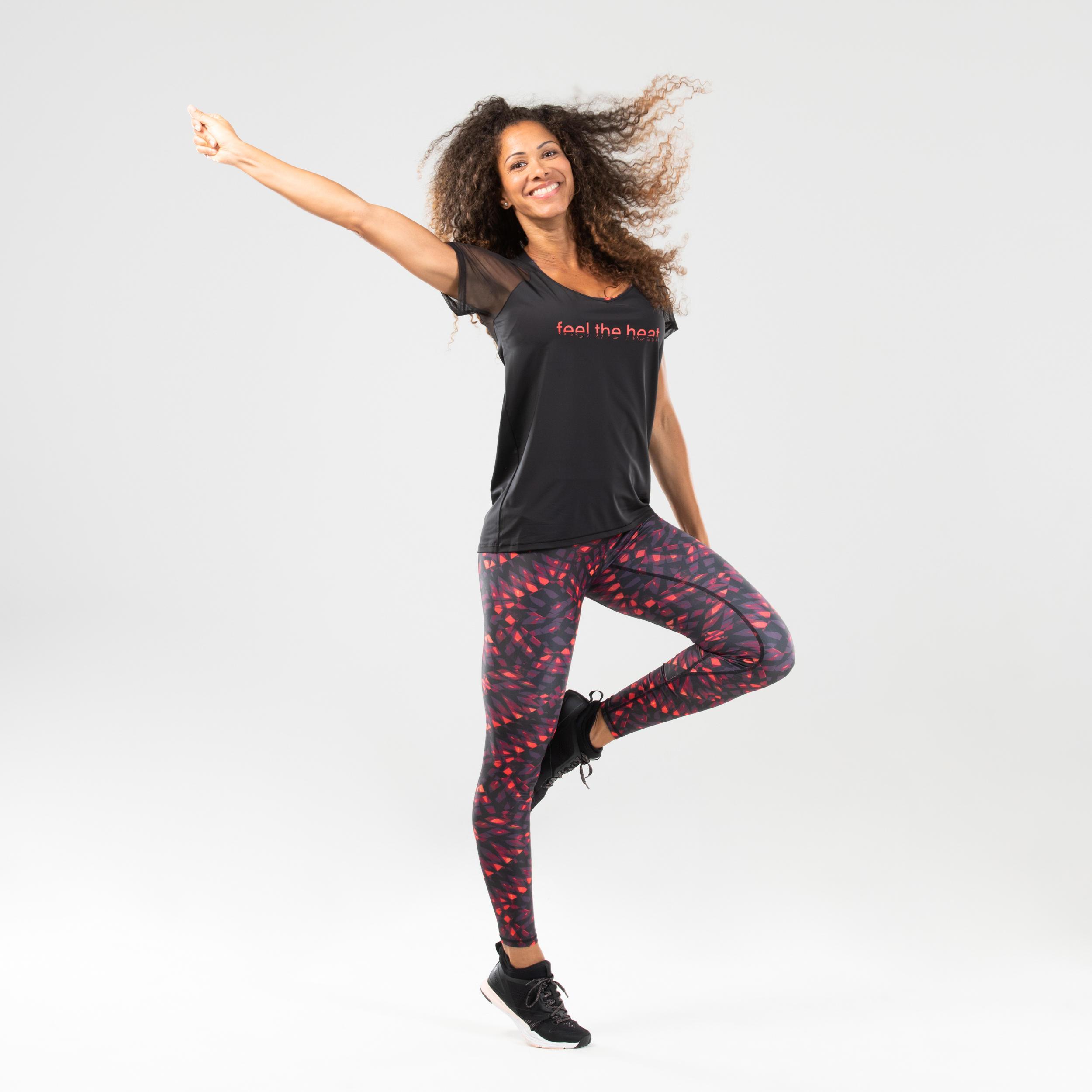 Tricou Dans aerobic Damă imagine