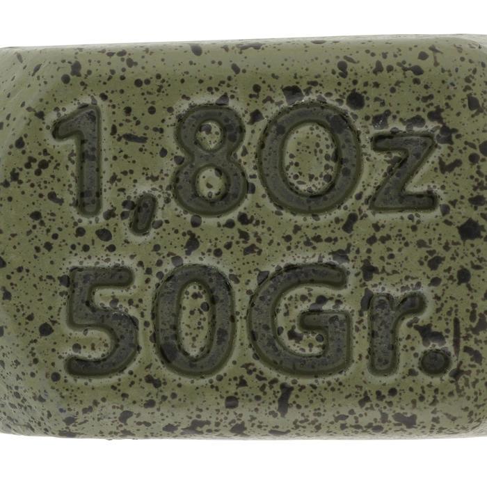 Loodjes voor karpervissen Square 50 g (x2)