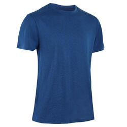 Men's Fitness Cardio Training T-Shirt 100 - Blue
