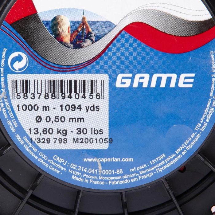 Lijn voor sleepvissen Game 1.000 m