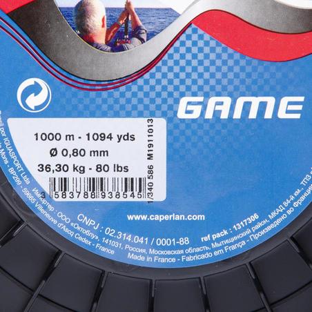 Game trolling line 1000m