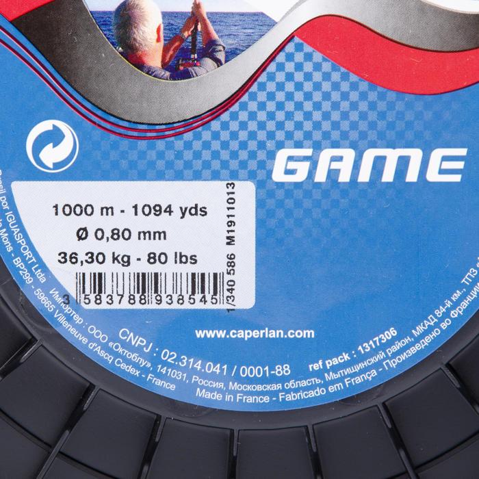 Lijn voor trollingvissen Game 1000 m