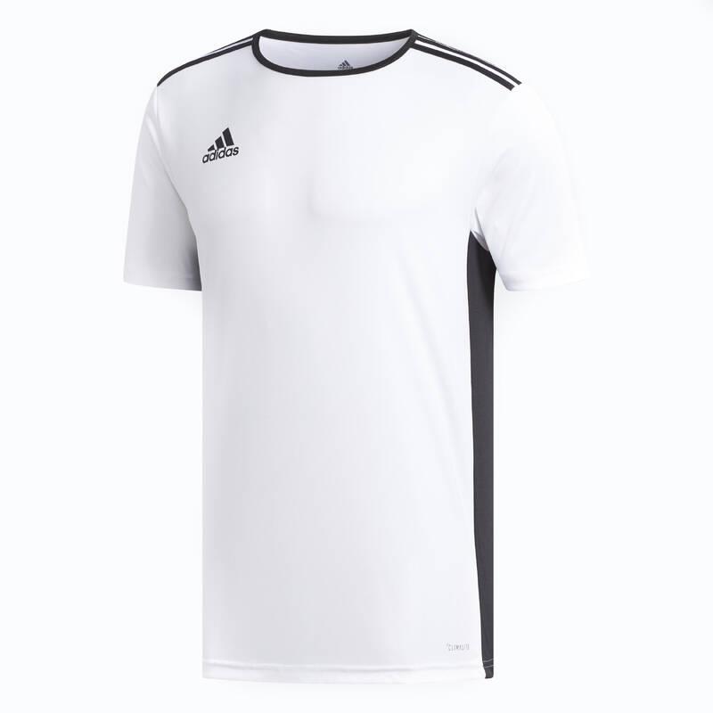 SOUPRAVY NA TRÉNINKY/ZÁPASY ZA TEPLÉHO POČASÍ Fotbal - DRES ENTRADA BÍLO-ČERNÝ ADIDAS - Fotbalové oblečení