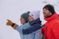 כובע סקי דגם TIMELESS למבוגרים - בורדו