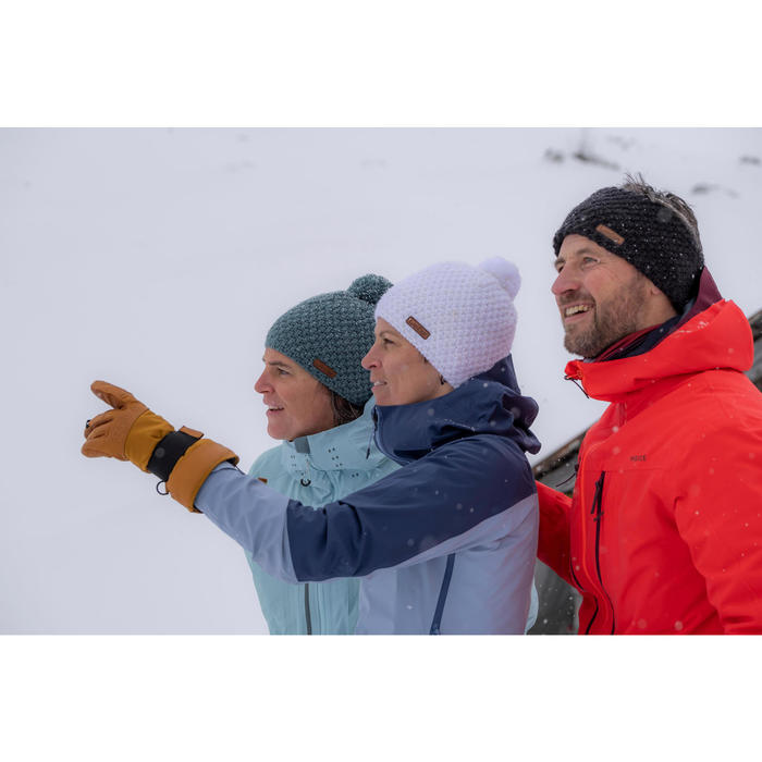 BONNET DE SKI ADULTE TIMELESS BLANC