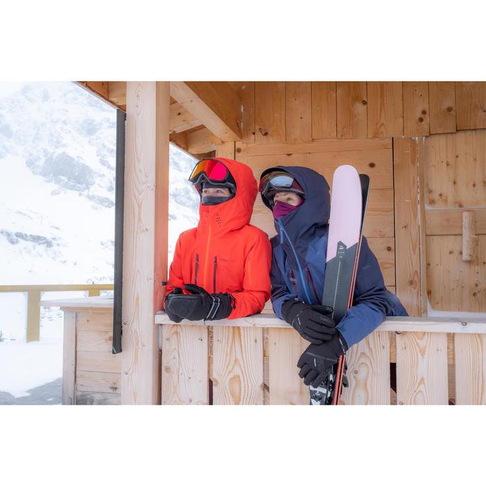 Bivakmuts in fleece ski volwassenen zwart