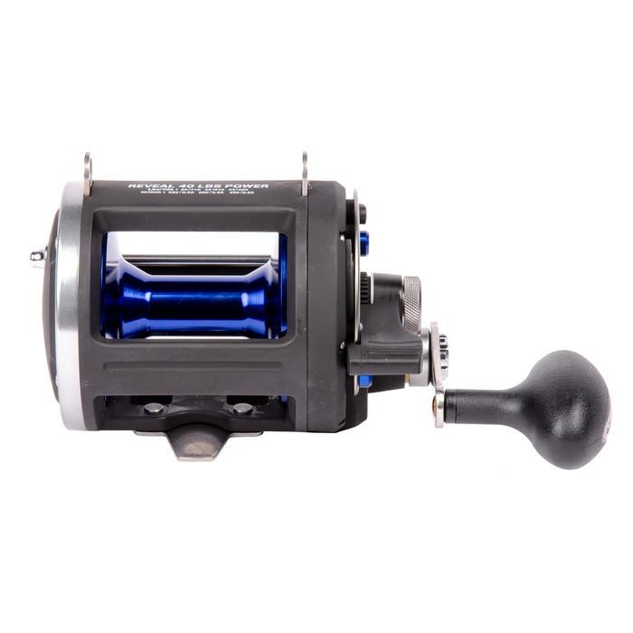 Moulinet de pêche à la traine Reveal Power 40Lbs