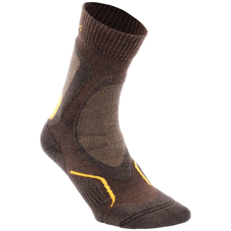 PONOŽKY Myslivost a lovectví - LOVECKÉ PONOŽKY STAT 500 SOLOGNAC - Myslivecká obuv a ponožky