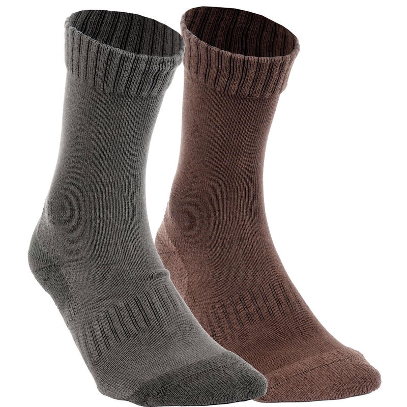Chaussettes Chasse ACT 100 x2 paires