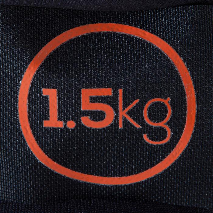 Verstelbare pols- en enkelgewichten 2 x 1,5 kg