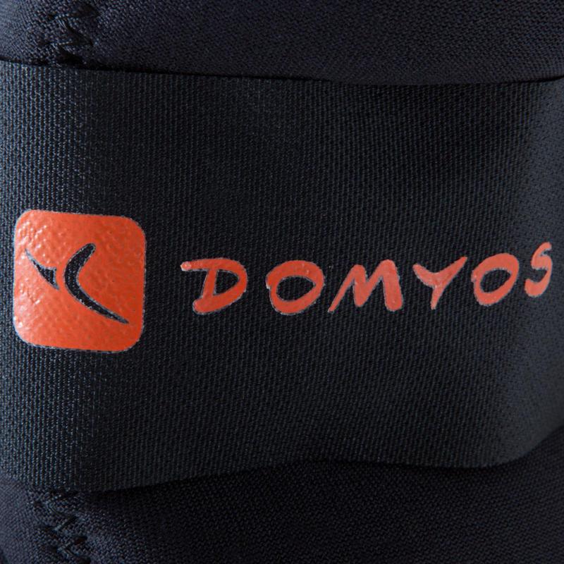 ดัมบ์เบลถ่วงข้อมือและข้อเท้าแบบปรับขนาดได้สำหรับกระชับกล้ามเนื้อแพ็คคู่รุ่น SoftBell ขนาด 1.5 กก.