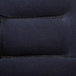 Lastres y Pesas para Tobillos y Muñecas Gimnasia Pilates Domyos 2X1,5KGNegro/Nar