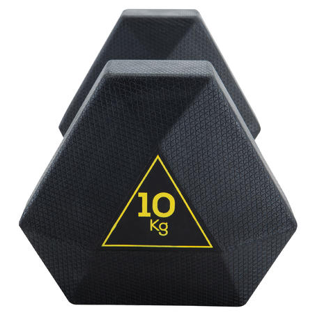 Haltère hexagonal 10kg