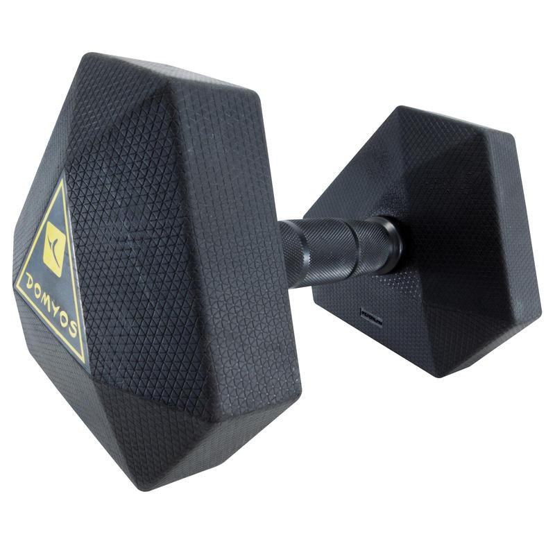 Hex Dumbbell 10 kg - Black