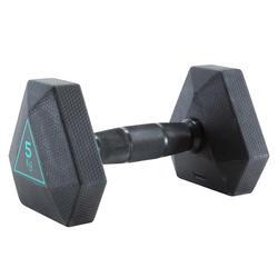 Гантель Hex, 5 кг