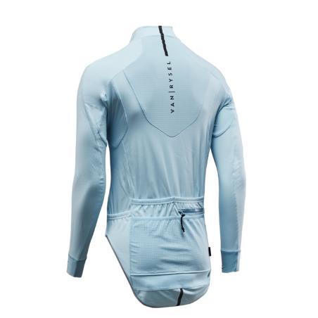 Куртка Racer для велоспорту, для холодної погоди - Світло-блакитна