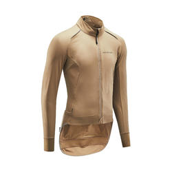 VESTE VELO ROUTE RACER TEMPS FROID SABLE