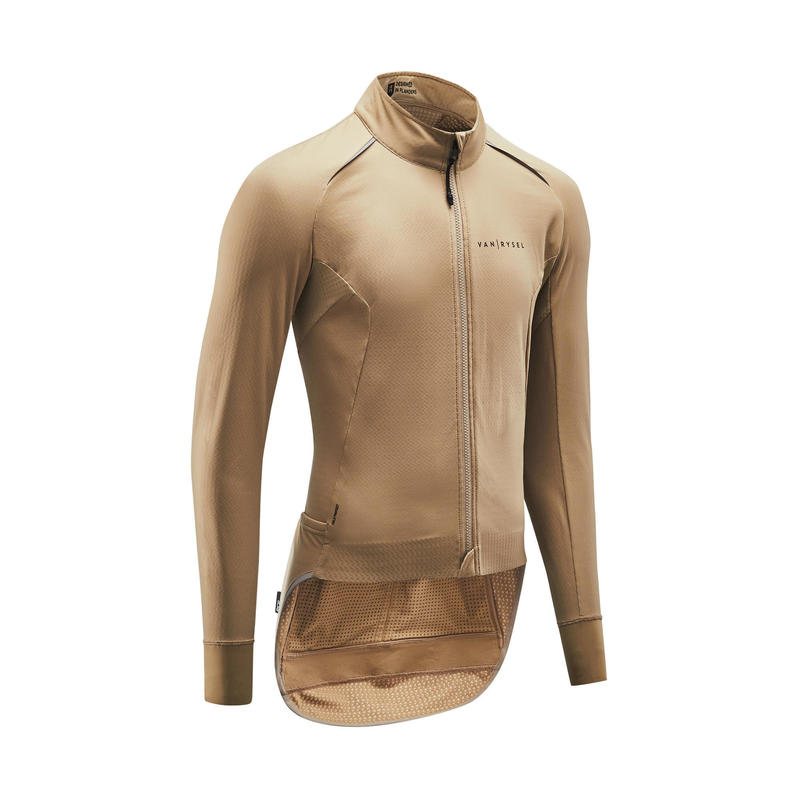 Road Cycling Jacket Racer - Sand