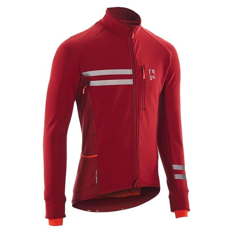 FÉRFI ORSZÁGÚTI KERÉKPÁROS RUHÁZAT TÚRAK Kerékpározás - Kerékpáros kabát RC500 TRIBAN - Kerékpáros ruházat